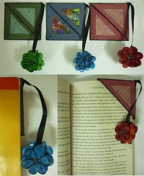 quilling tutorial book quilled bookmark quilling pinterest corner bookmarks