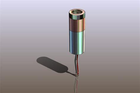 mitsubishi laser diode 12mm laser diode module with 635nm mitsubishi laser diode step iges solidworks 3d cad