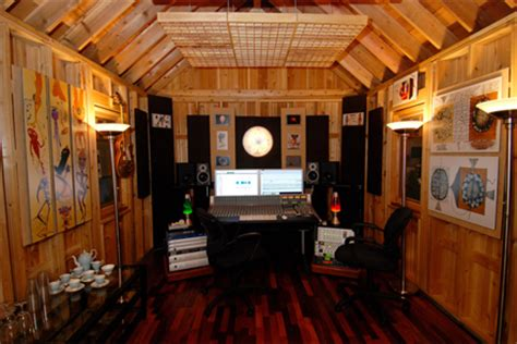 backyard recording studio the shed of your dreams richard cleaver