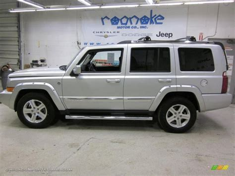 2010 jeep commander silver 2010 jeep commander limited 4x4 in bright silver metallic