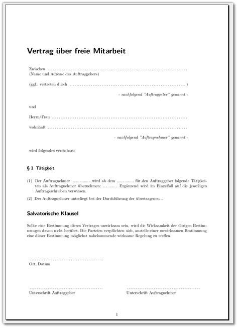 Word Vorlage Vertrag Vorlage F 252 R Vertr 228 Ge Meinnoteblog S