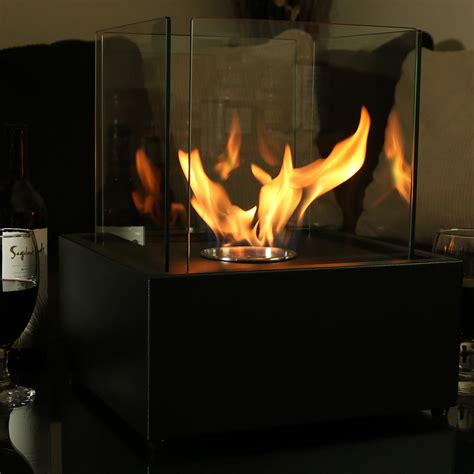 Large Ethanol Fireplace by Large Ventless Tabletop Fireplace Cubic Bio Ethanol