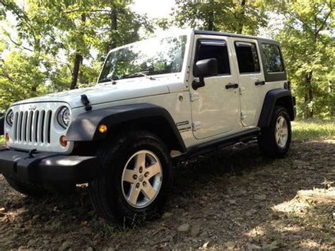 2012 jeep wrangler 4 door purchase used 2012 jeep wrangler unlimited sport utility 4