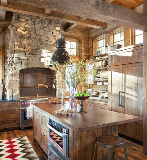 rustic kitchen designs 20 cozy rustic kitchen design ideas style motivation