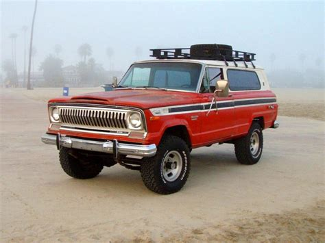 Vintage Monday: The 1974-1983 Full-Size Jeep Cherokee (SJ ... 04 Chevy Suburban Paint Colors
