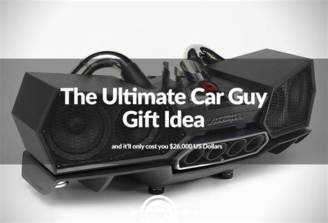 need to blow 26 000 the ultimate car guy christmas gift