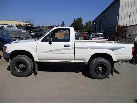 white toyota truck 1990 toyota truck white 2 4l mt 4wd z15025 rancho toyota