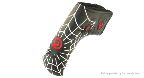 spiderman head pattern 9 14 spiderman pattern golf putter club head cover at