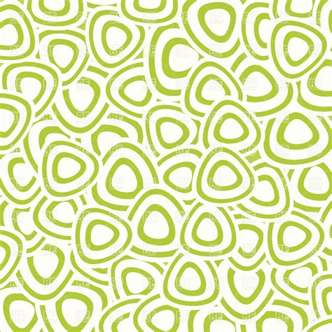 pattern of abstract abstract pattern made of green rounded triangles royalty