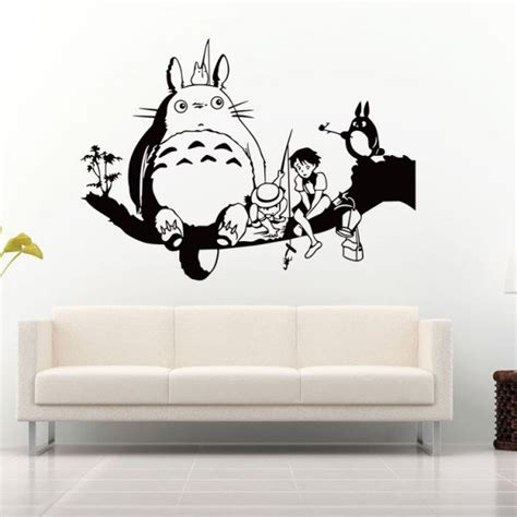 Totoro Bedroom Decor by Souq My Totoro 3d Wall Sticker Home Decor Anime
