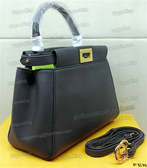 Limited Fendi Peek A Boo 23cm Original Leather Rp 4750000 2 fendi peekaboo oak greymustard yellow original leather