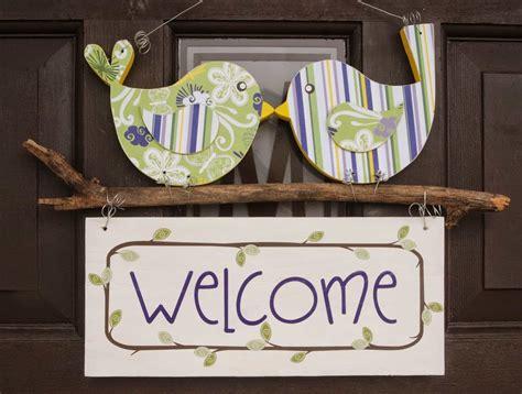 Welcome Sign For Front Door Tweet Welcome Sign Burton Avenue