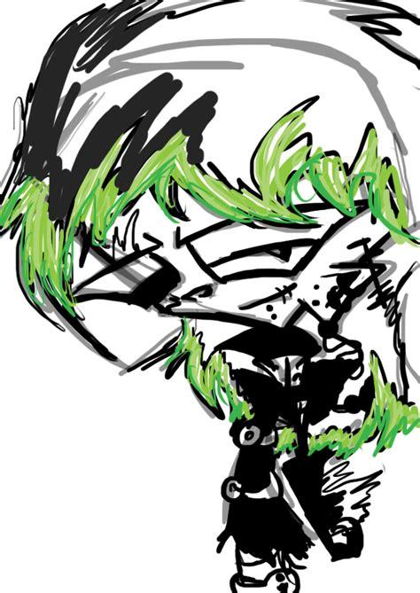 doodle fan sign quot d quot zade doodles invader zim fancharacters fan