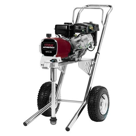titan advantage gpx 85 gas powered airless paint sprayer