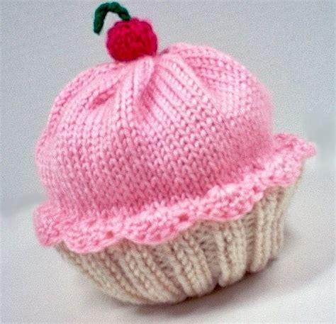 3 Sweet Knitted Cupcake Hat Pattern Sizzle Stich