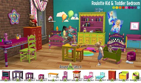 Disney Bedroom Furniture around the sims 4 custom content download roulotte kid