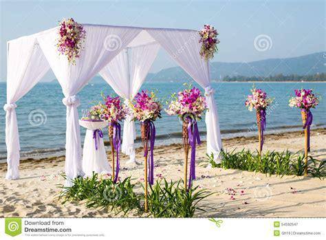 toldo de playa toldo de la boda de playa imagen de archivo imagen de