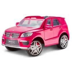 Pink Mercedes Power Wheels Kid Trax Gl 63 Mercedes 12v Powered Ride On Walmart Ca