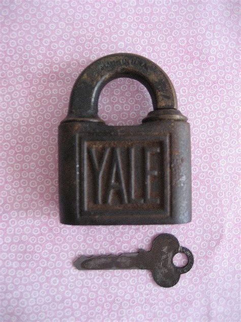 vintage antique yale lock key yale amp towne mfc co by