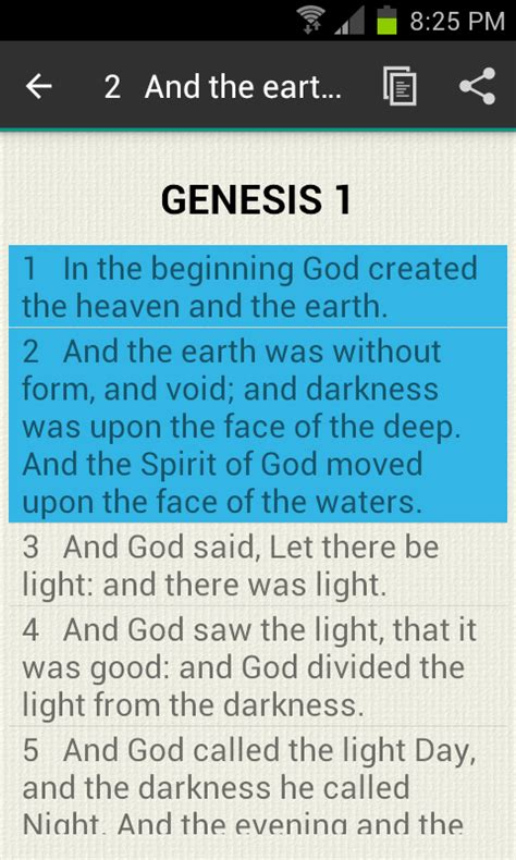 book of genesis chapter 1 verse 16 chapter bible genesis 1 android apps on play