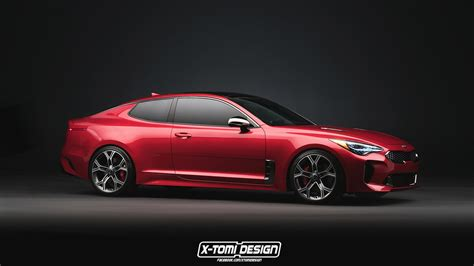 Kia Koupe by Kia Stinger Gt Coupe Wagon Are Unfortunately Only Renders