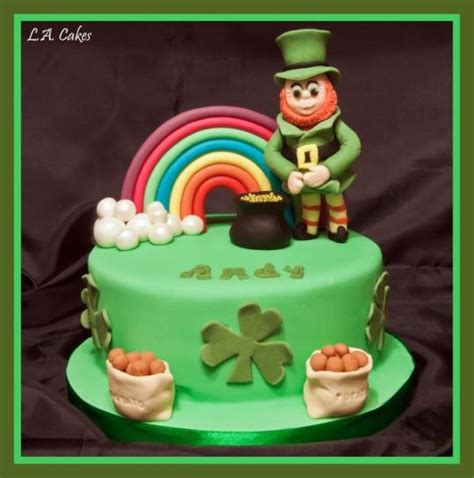 irish cake andy s irish birthday cake by laura young cakesdecor