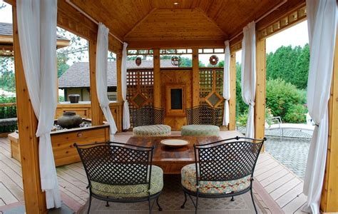 pergola with privacy how to customize your outdoor areas with privacy screens