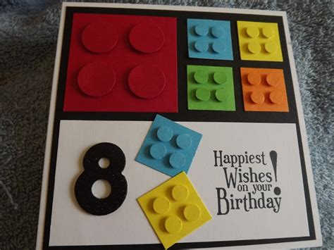 lego card by mitch1 cards and paper crafts at