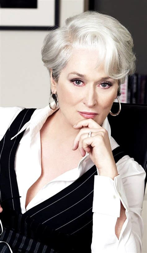Meryl Streep as Miranda Priestly in Devil Wears Prada Make
