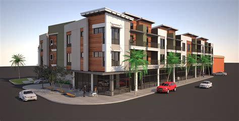 apartment building designs triple story apartment modern house