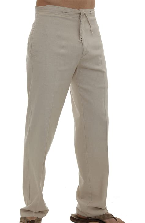 Volos Linen Drawstring Pants   Wedding Tropics