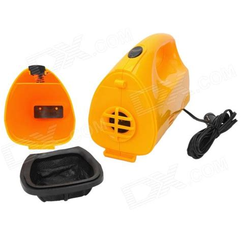 2 In 1 Inflator 12 Volt Vacum Cleaner Vakum 12 Volt 2 In 1 2 in 1 multifunction tire inflator air compressor w vacuum cleaner yellow dc 12v free