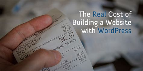 what is the true total cost to build a quality residential the real cost of building a website with wordpress