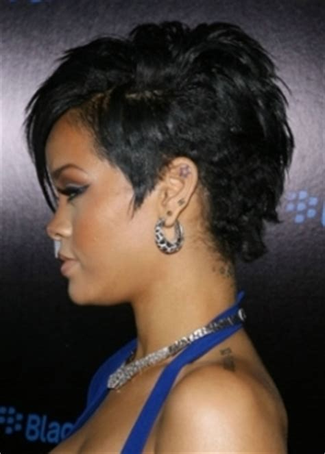 back view of rinna hair 31 wonderful rihanna short hairstyles back view wodip com