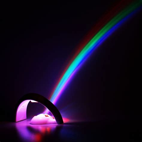 led lucky rainbow projector room night light color l