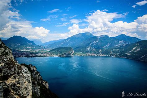 Lago Di Garda by Above Lago Di Garda Thetraveler Bg