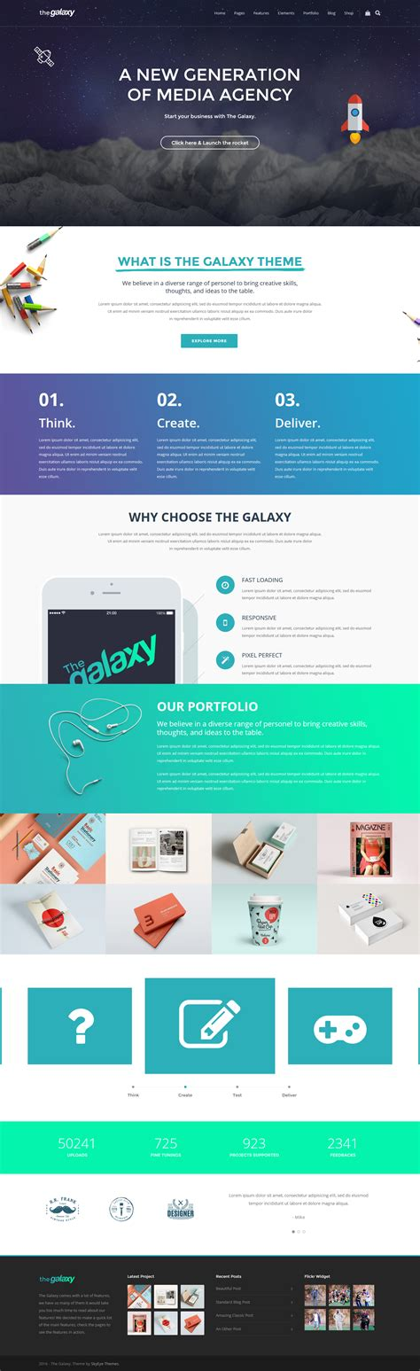 The Galaxy Design Driven Multipurpose Wordpress Theme | the galaxy design driven multipurpose wordpress theme