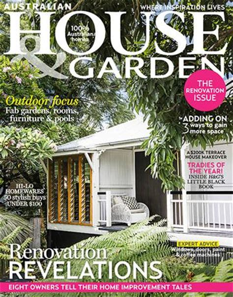 house and garden magazine australian house garden magazine feature outdoor rooms