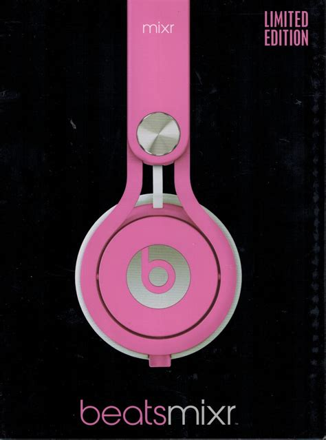 Dijamin Headset Beat With Talk beats by dr dre mixr neon pink neu ovp limited