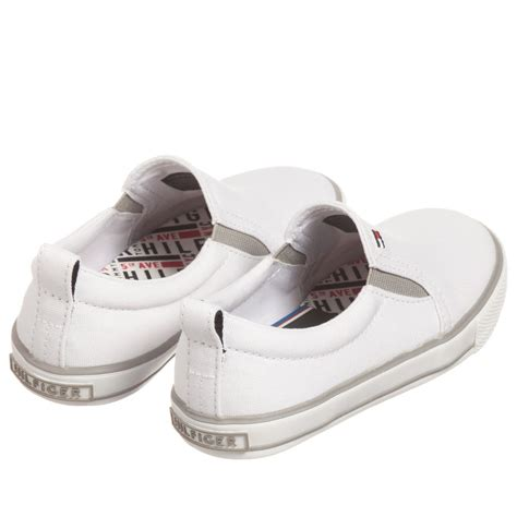 hilfiger white sneakers white hilfiger shoes 28 images hilfiger white canvas