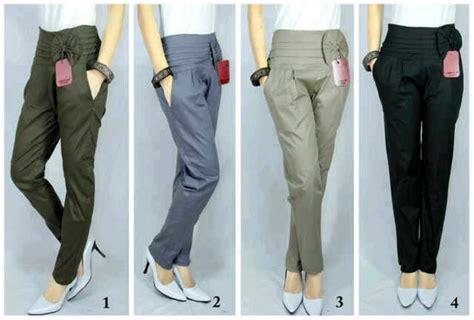 Celana Kerja Bahan fitinline 7 jenis kain untuk membuat celana