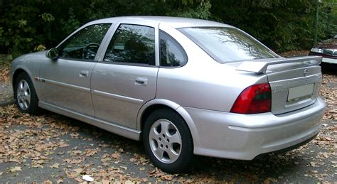 opel vectra b 2000 file opel vectra rear 20071025 jpg wikipedia