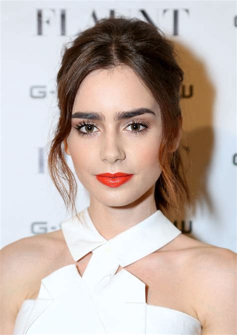 lizly hairstile 7 makeup ideas to steal from lily collins our no 1 new