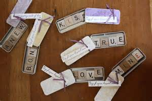 Scrabble magnet favors normally i am in the edible camp for favors