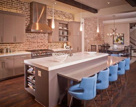 ziegel in der küche jugendzimmer ideen
