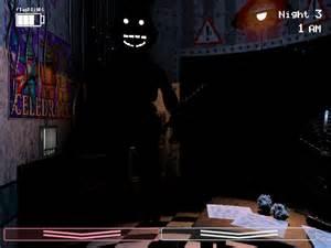 Fnaf 2 black figure dark freddy ghost thingy by guirou son on