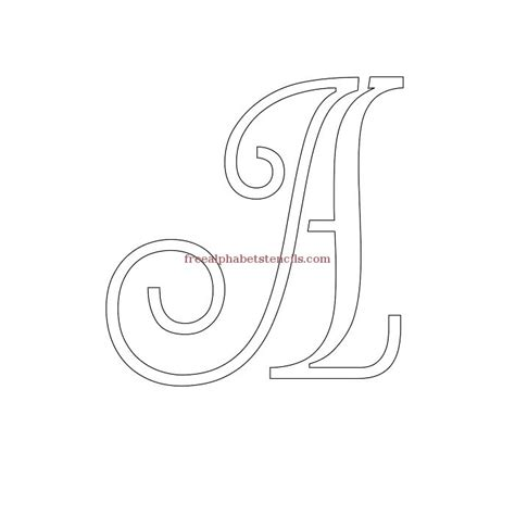 printable upper and lowercase letter stencils read article decorative cursive uppercase lowercase