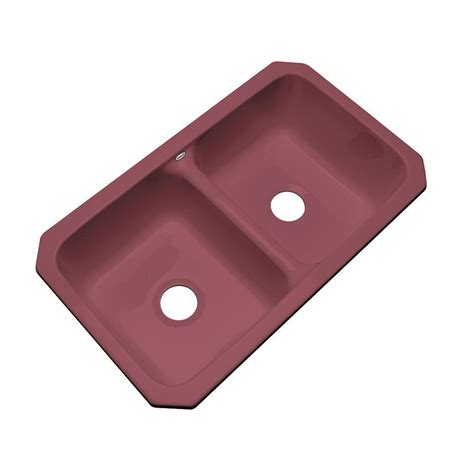 Kitchen Sink 33x19 by Thermocast Newport Undermount Acrylic 33x19 5x9 In 0