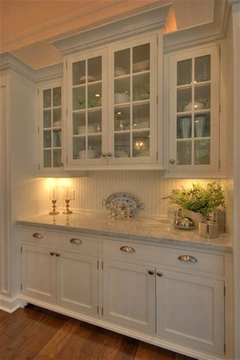Kitchen Cabinets In Built In Hutch I Really Prefer This To Traditional