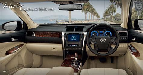 toyota camry 2017 interior india bound 2015 toyota camry facelift bangkok live